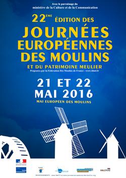 Journées des Moulins Mai 2016