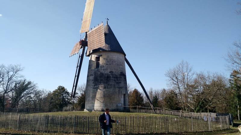 Moulin à vent de La Tour Blanche