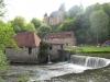 Barrage et chateau de la forge de Savignac Lédrier