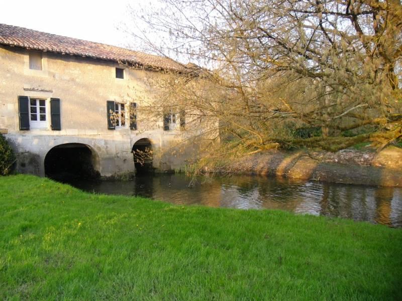 Sortie de l'eau au Moulin