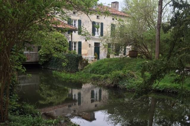 En amont du Moulin