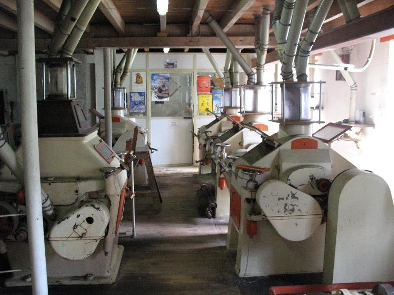 Machinerie du Moulin  de la Pauze