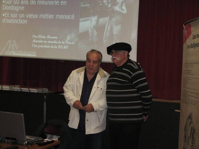 Conférence sur les meuniers - Alain Mazeau