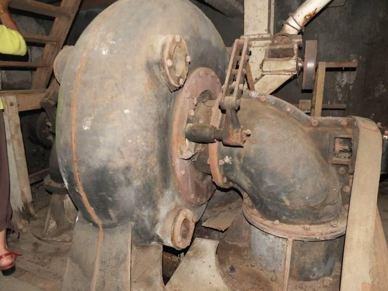 Turbine permettant d'activer le mécanisme
