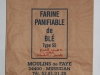 Ancien sac de farine du Moulin de Faye