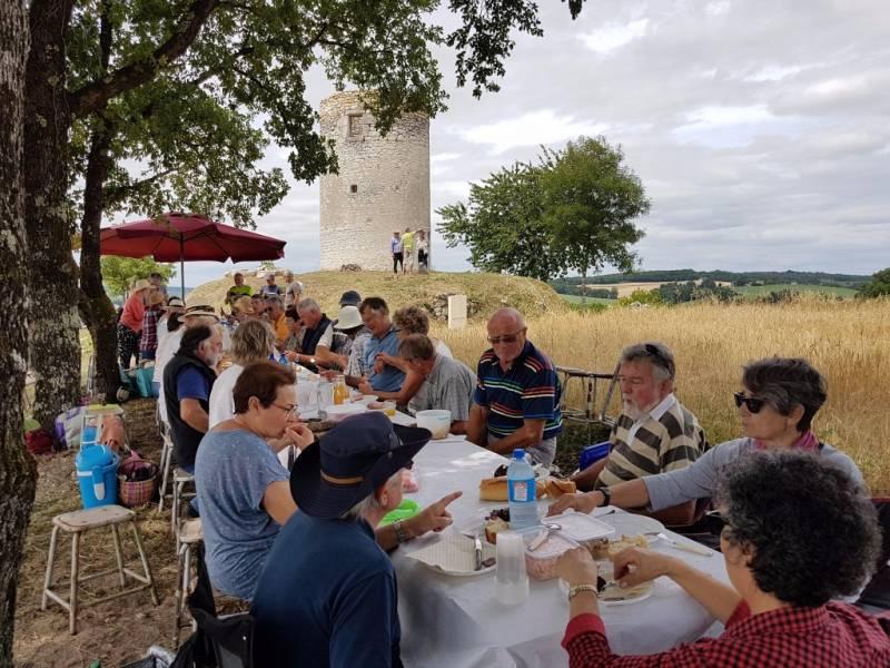 SADILLAC - Pique-nique au moulin de Citole