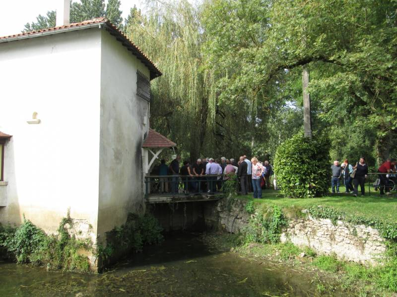 Vue d'ensemble de Moulin de Chantemerle
