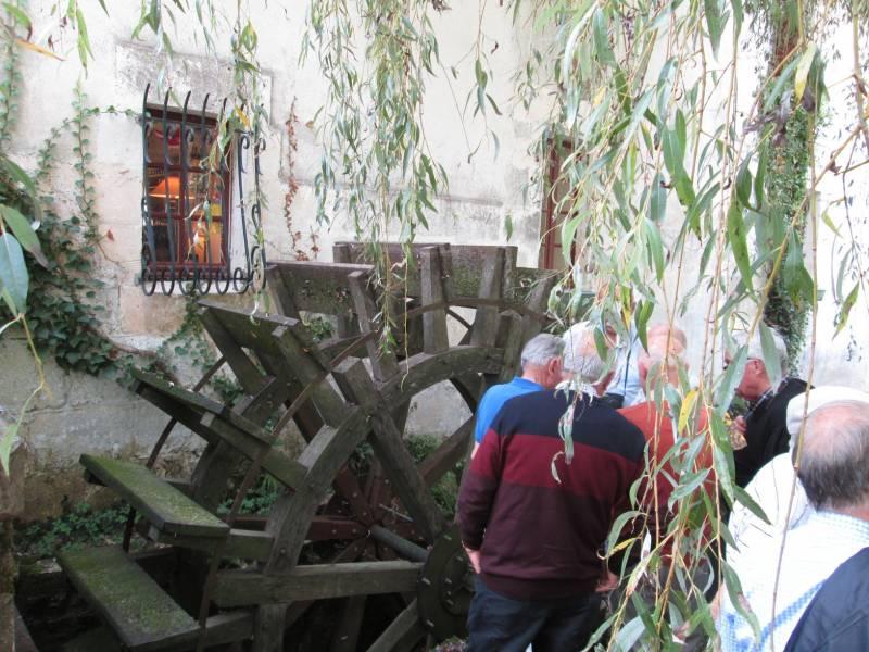 Roue verticale du moulin