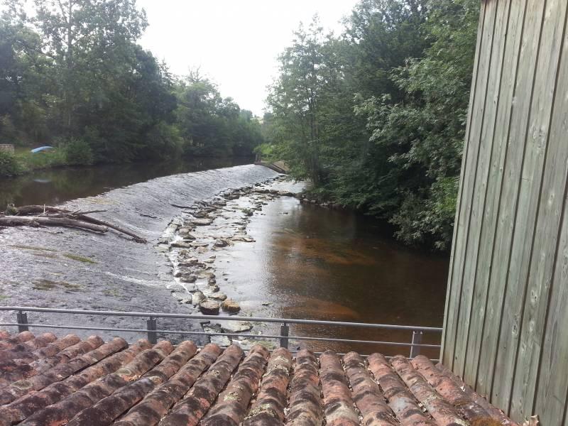 Vue de l'étage du Moulin de Meunot