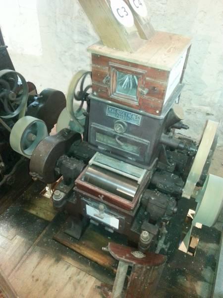 Machine du Moulin de Montbron