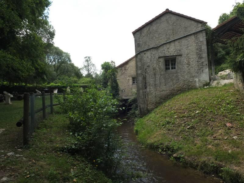 Canal de fuite du moulin