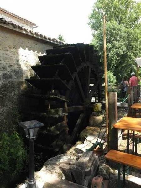 Roue du Moulin de Chazelles