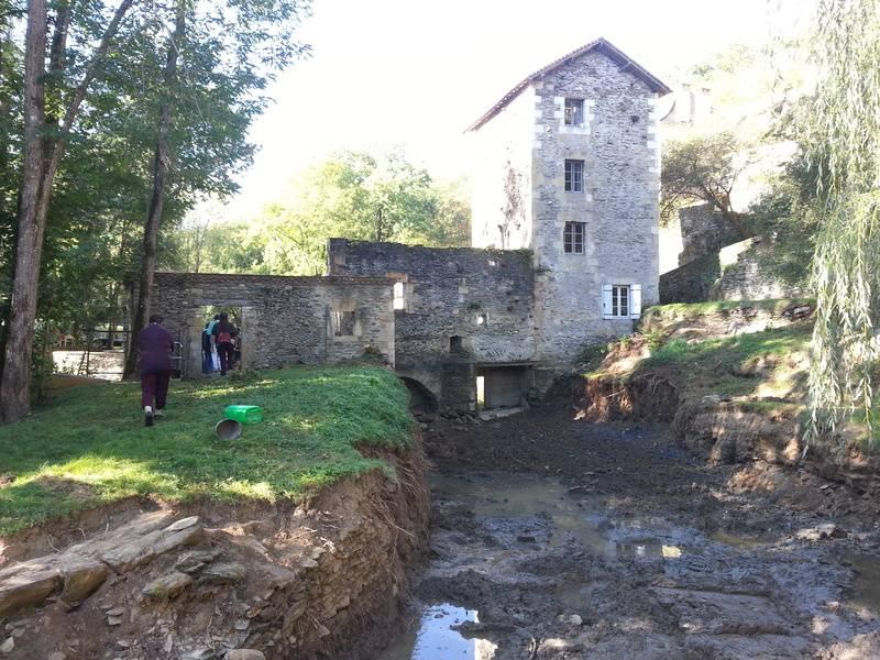 Moulin de Guimalet à Anilhac
