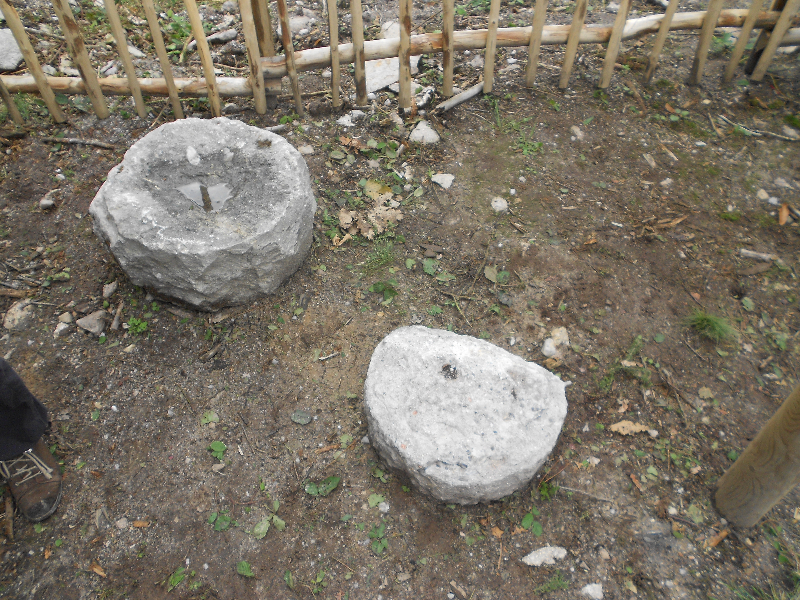 Reste de meules gallo-romaines