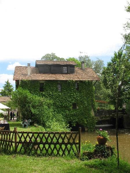 Vue d\'ensemble du moulin de Taillepetit
