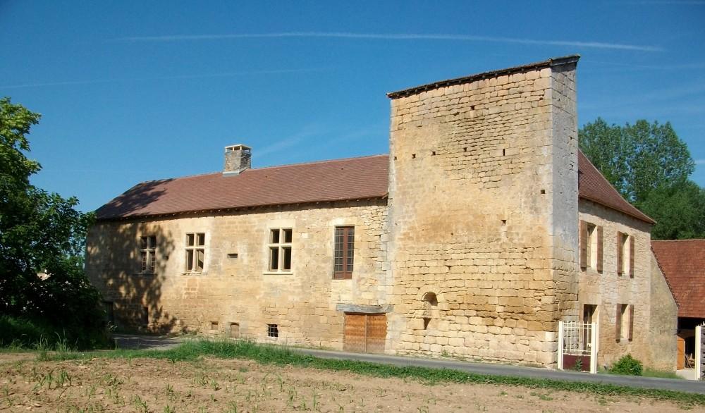Face avant du Moulin de Gouny