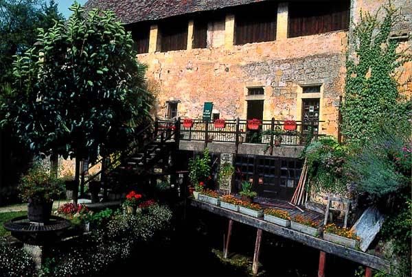 Moulin de larroque en Dordogne