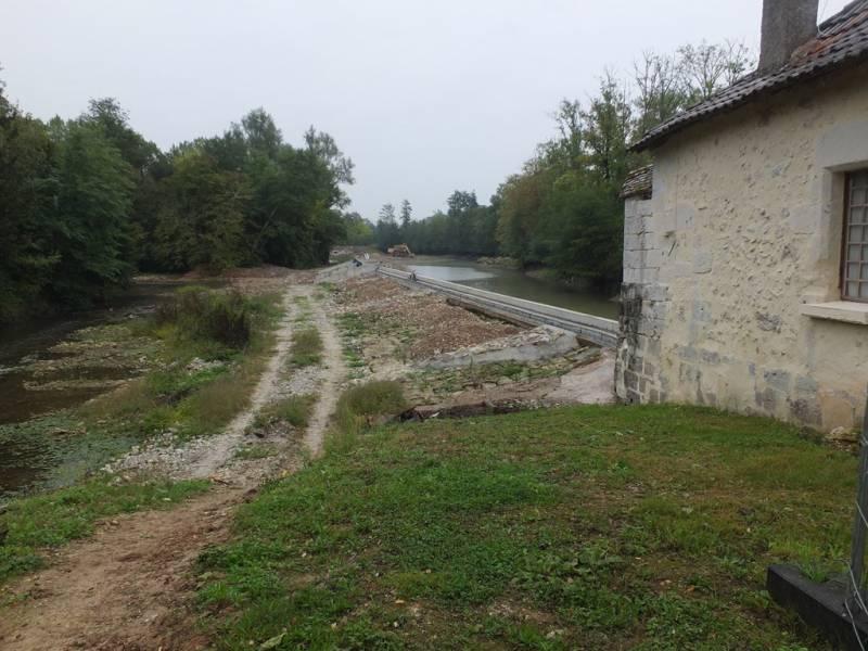 Le barrage du Moulin Brulé